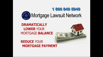 Mortgage Lawsuit Network TV Spot - Thumbnail 7