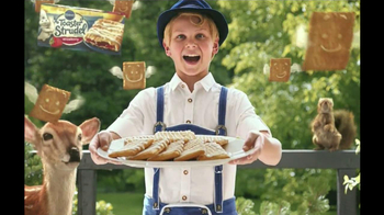 Pillsbury Toaster Strudel TV Spot, \'Door Kick With Hans Strudel\'
