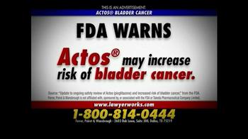 Actos Fda Warning Bladder Cancer