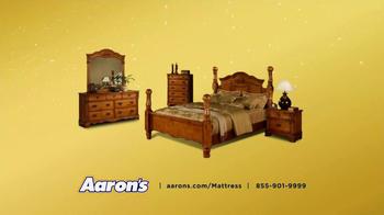 Aaron's TV Spot '50% Off New Mattress Set'