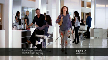 HUMIRA TV Spot, 'Salon' - Thumbnail 4