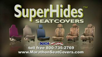 Superhides Seat Covers >> Marathon Seat Covers Tv Spot Ispot Tv