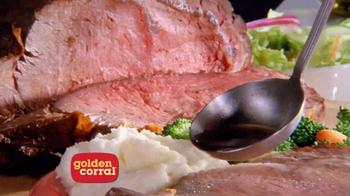 Golden Corral Prime Rib & Shrimp Weekend TV Spot