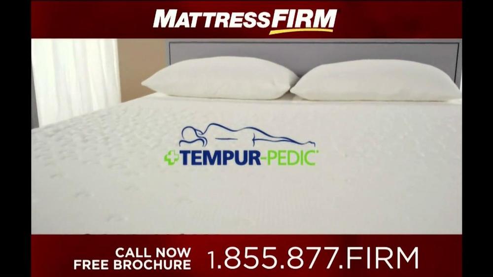 Mattress Firm Tempur Pedic TV Spot iSpot