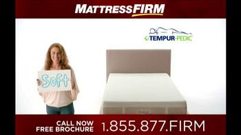 Mattress Firm Tempur-Pedic TV Spot - Thumbnail 2