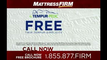 Mattress Firm Tempur-Pedic TV Spot - Thumbnail 8