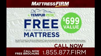 Mattress Firm Tempur-Pedic TV Spot - Thumbnail 9