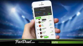 FanDuel Fantasy Football One-Week Leagues TV Spot, 'Get Your Share'