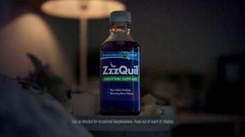 Vicks ZzzQuil TV Spot, 'Sleep Like the Kids are Away' - Thumbnail 8