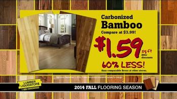 Lumber Liquidators 2014 Fall Flooring Season TV Spot