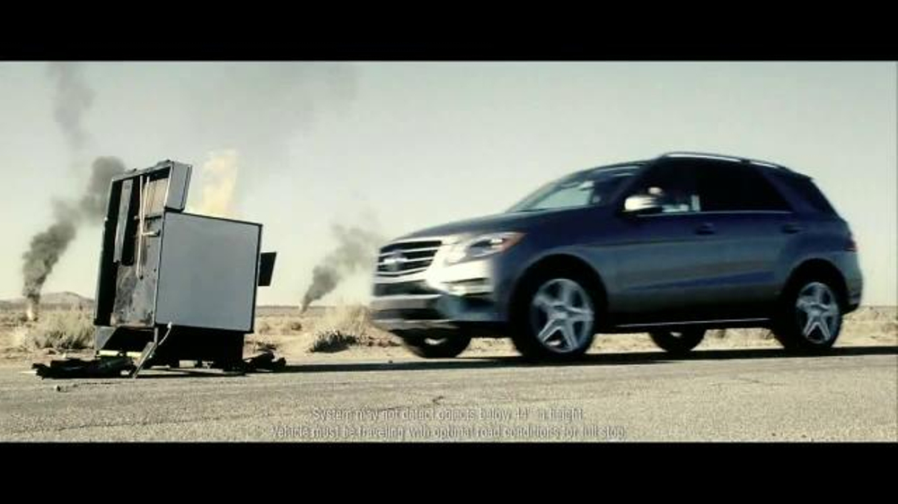 2015 mercedes benz ml 350 tv commercial 39 the worst of the for Mercedes benz tv