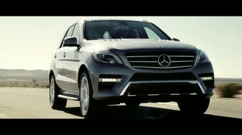 2015 Mercedes-Benz ML 350 TV Spot, 'The Worst of the Road' - Thumbnail 1