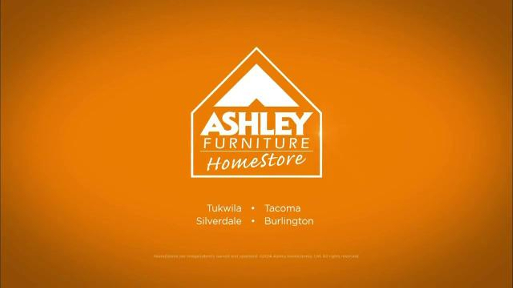 Ashley Furniture Homestore Pre Labor Day Sale TV