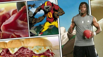 Subway Big Hot Pastrami Melt TV Spot, 'Hungry Heroes' Featuring NFL Players - 28 commercial airings