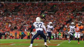 Xbox One NFL Fantasy Football TV Spot, 'Denver vs. San Diego' - 1 commercial airings