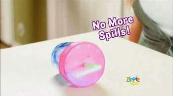 Zippie Sips TV Spot, 'Never Spill Again' - Thumbnail 2