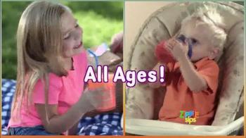 Zippie Sips TV Spot, 'Never Spill Again' - Thumbnail 3