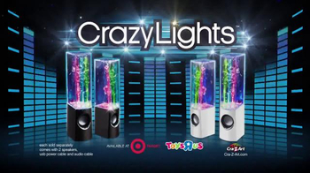 Crazy Lights Magic Water Speaker TV Spot, 'Move to Your Music'
