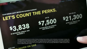 Nissan Leaf TV Spot, 'Kick Gas' - Thumbnail 6