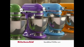 Kitchen Aid Stand Mixer TV Spot, 'Kitchen Staple'