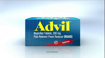 Advil TV Spot, \'Fact\'
