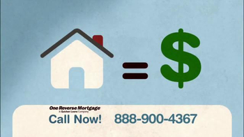 One Reverse Mortgage TV Spot, 'Largest Asset'