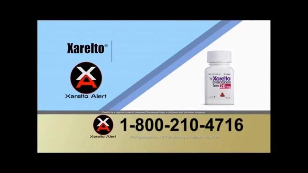 Pulaski Law Firm >> Xarelto Alert Helpline TV Commercial, 'Xarelto Warning ...