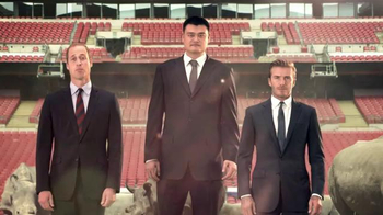 WildAid TV Spot, 'Whole World' Ft. David Beckham, Yao Ming, Prince William - 26 commercial airings