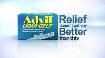Advil Liqui-Gels TV Spot, \'Tough Pain Relief\'