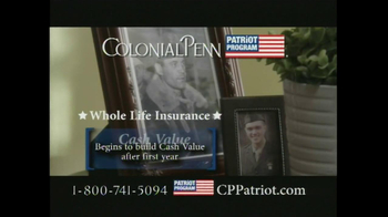 Colonial Penn Patriot Program TV Spot, 'Welcome Home' - Thumbnail 7