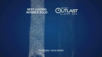 Secret Outlast Clear Gel TV Spot, 'Busy Day' - Thumbnail 7