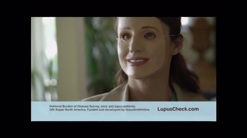 LupusCheck.com TV Spot, 'Brave Face' - Thumbnail 4