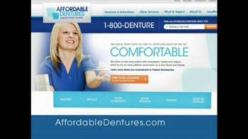 Affordable Dentures TV Spot, 'Momet' - Thumbnail 7