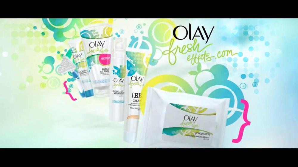 Olay Fresh Effects Skin Care TV Spot