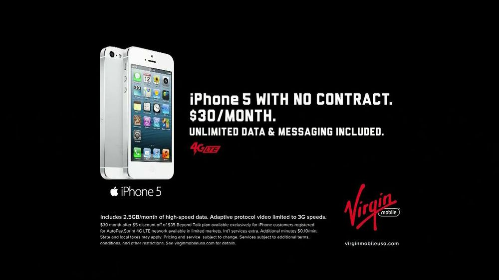iphone 5 no contract virgin mobile has made world