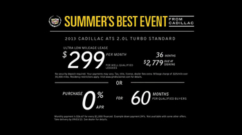 Cadillac Summer's Best Event TV Spot - Thumbnail 8