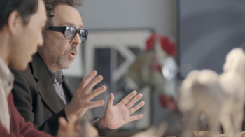 Samsung Galaxy Note 10.1 TV Spot, 'Meeting with Tim Burton'