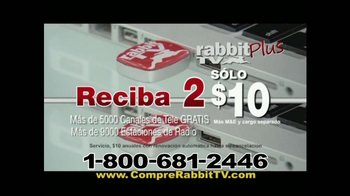 Rabbit TV Plus TV Spot, 'Más Canales' [Spanish] - Thumbnail 9
