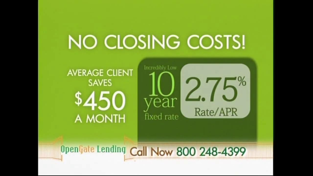 Western Sky Loans >> OpenGate Lending TV Commercial, '10-Year Fixed Rate' - iSpot.tv