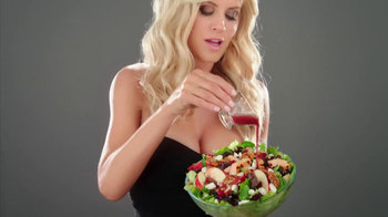 Carl's Jr. Cranberry Salad TV Spot Ft Jenny McCarthy, Song Pharoah Monch