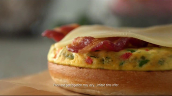 Dunkin' Donuts Hot & Spicy Sandwich TV Spot - Thumbnail 6
