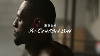 Beats Powerbeats2 Wireless TV Spot, \'Re-Established 2014\' Ft. LeBron James
