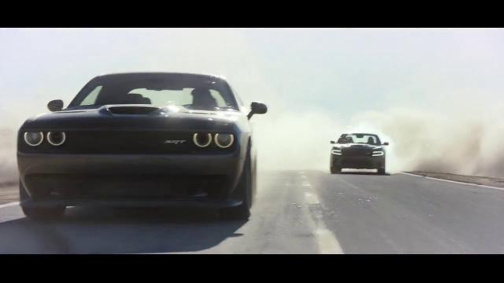 Vin Diesel Dodge Challenger Commercial >> 2015 Dodge Charger & Challenger TV Commercial, 'Dodge Brothers: John vs. Horace' - iSpot.tv