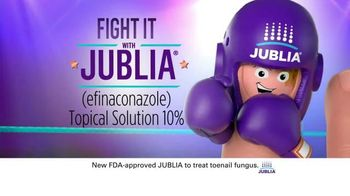 Jublia TV Spot, \'Fight It, Don\'t Hide It\'