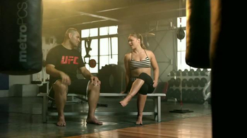 MetroPCS TV Spot, 'Who is More Metro' Feat. Cain Velasquez and Ronda Rousey