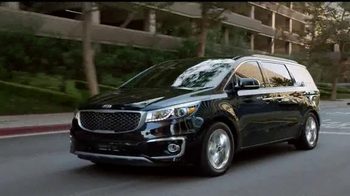 Kia Hamster Commercial >> 2015 Kia Sedona TV Commercial, 'No Compromises' - iSpot.tv