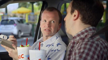 Sonic Drive-In Sonic Splash Sodas TV Spot, 'Calculator Phone' - 2760 commercial airings