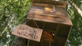 Crayola Sketch Wizard TV Spot, 'Treehouse'