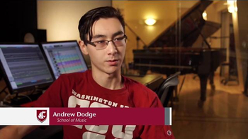 Washington State University TV Spot, 'Andrew Dodge: School of Music'