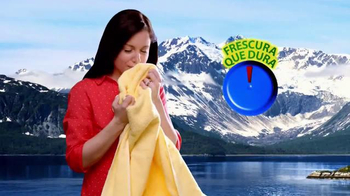 Arm and Hammer Clean Scentsations TV Spot, 'Frescura que dura' [Spanish]